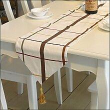 Tang Die Alten Geometrie Tischläufer Moine - Kleiden Tisch Perfekte Accessoire Up,30*180cm