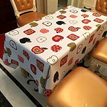 Tang Moine Apple Keynote Kleiner Frischer Stil Zu Hause Frisch Wasser Picknick Tischdecke,137cm*200cm