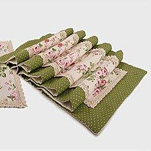 Tang Moine Bett Flagge Frühjahr Und Sommer Mode Luxus Mit Blumen Spitze Tischdecken Heimtextilien Tischtuch Mahlzeit Flagge,140*180cm