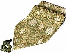 Tang Moine Blumen Läufer - Kleiden Sie Ihren Tisch Mit Perfekten Accessoires Up,Green