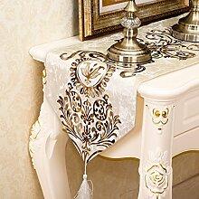Tang Moine Continental Gartentischläufer Tischsets Tischdecken Tischdecken Fahnen Bett Couchtisch Flaggen Fahnen Mahlzeit,Pink