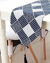 Tang Moine Cotton Craft - Jute Tischläufer - Perfektes Zubehör Ihres Tisch Zu Verkleiden - Spot-Clean Only,C-160x28cm