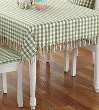Tang Moine Einfacher Solider Anti-hot Tisch Rund Quadratisch Tisch Vorhänge Tischdecken,A-135*180CM