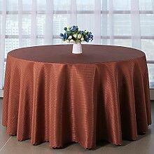 Tang Moine Große Attraktion Jacquard-Tischdecken Heimtextilien Hotel Restaurant Rundtischdecken Tischdecken,160cm*160cm