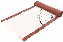Tang Moine Hand Bemalt Tee Sitz Heimtextilien Bettwäsche Tischläufer Tischfahnen Flaggen Schrank,Brown