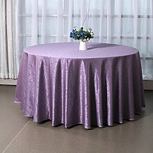 Tang Moine Hotels Restaurants Restaurant Runder Tisch Quadratischer Tisch Tischdecke Tischdecke,260cm