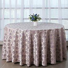 Tang Moine Kapok Jacquard Hauptdekoration Tischdecken Tischdecken,180cm*180cm