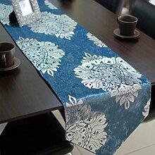 Tang Moine Neue Heiße Stempel Europäische Klassische Tischfahne Zähler Flagge Fahne Bett Couchtisch Flagge,Blue