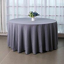 Tang Moine Orange Segmente Heimtextilien Runder Tisch Tischdecken Tischdecken Cafes Restaurants,200cm