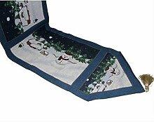Tang Moine Weihnachtsmann Weihnachtstischläufer - Kleiden Sie Ihre Tisch Perfekte Accessoire Up,E