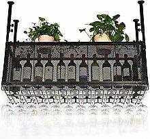 TANGIST Einzigartiges Dekor Weinhalter Weinregal
