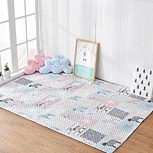 TangMengYun Baumwolltuch Teppich, Schlafzimmer