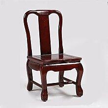 TangMengYun Chinesischer Stil kleiner Stuhl einfache Atmosphäre Massivholz handgefertigt ehrlich 33 * 30 * 68cm