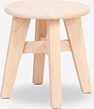 TangMengYun Nette kleine hölzerne Stuhl Primärfarben leichte und stilvolle kreative erwachsene Kinder können verwendet werden ( Farbe : A )