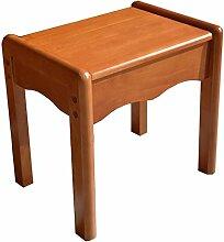 TangMengYun Nordic Eiche Couchtisch Make-up Hocker Hocker Sofa Hocker Mahlzeit Stuhl eleganten Luxus 40 * 27 * 37cm ( Farbe : B )