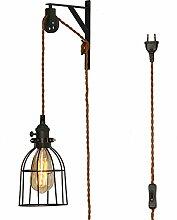 TANGSHI Industriale Retro Stil Wandlampe
