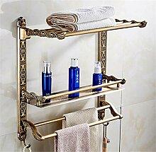 TANGTI Badezimmer Regale 2 Schichten