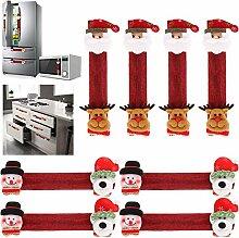 Tanlee Weihnachts-Küchengerät-Griffabdeckungen,
