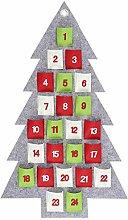 Tannenbaum Adventskalender zum Befüllen Kinder