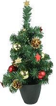 Tannenbaum Weihnachtsbaum im Topf mit 10 LEDs