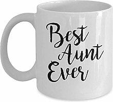 Tante Mug - beste Tante aller Zeiten Kaffee &
