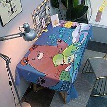 Tanxi Die Tischdecke ist eine wasserdichte,