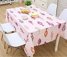Tao Europäische rustikale Polyester Tischdecke