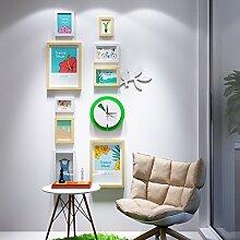 Tao Fotowand Bilderrahmen Collage Mode Uhren
