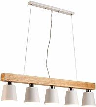 Tao-Light Pendelleuchte Esstisch Holz Und Metall