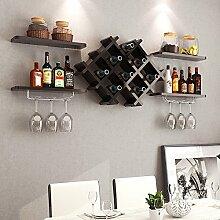 Tao Wandregal Weinschrank Wand-montiert Display