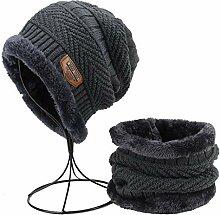 Tao Wintermützen für Männer Halswärmer