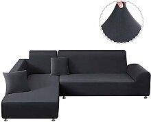 TAOCOCO Sofa-Schonbezug, elastisch, L-Form,