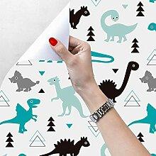 Taogift Papier-Tapete mit Dinosaurier-Motiv, für