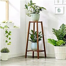 Taoke Grün Rettich Rack-Bambus und Holz-Regal