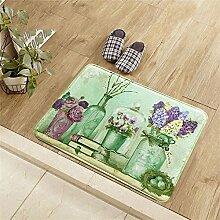 TaoMi- Karikatur - Matratze Wohnzimmer Foyer Küche Pad Bad Anti - Rutsch - Pad ( größe : 50cm*80cm )