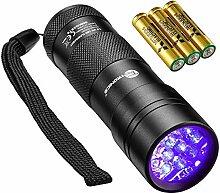 TaoTronics UV Taschenlampe Schwarzlicht für