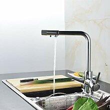 TAOXIXI Einhand 3-Wege-Küchenarmatur