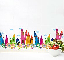 TAOYUE Bunte Bleistifte Häuser Baseboard