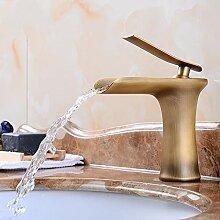 Tap IBHT Einhand-Wasserfall-Hahn-Hoch Waschbecken