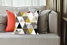 Tape Design cuscino001Kissenbezug, Chenille, mehrfarbig, 40x 40x 5cm