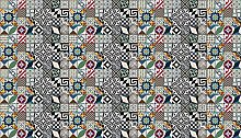 Tape Design fraliv-dis21–66x 150Teppich, Polyester, mehrfarbig, 66x 150x 1cm