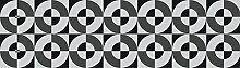 Tape Design K160–120Läufer, Stoff, mehrfarbig, 52x 120x 1