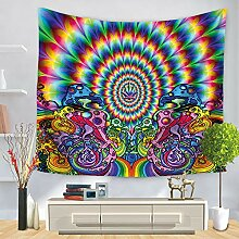 Tapestry Hippie Wandteppich, Morbuy Tapisserie