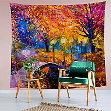 Tapestry Home Tapisserie, Landschaftsmalerei,