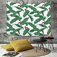 Tapestry, Wall Hanging, Blatt, Bananenbaum