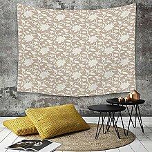 Tapestry, Wall Hanging, Blumen, Blumengesteck mit