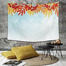Tapestry, Wall Hanging, Eberesche, sonniger