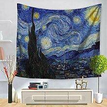 Tapestry, Wall Hanging,Kopie Van Gogh'S
