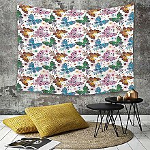 Tapestry, Wall Hanging, Schmetterling,