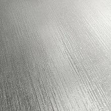Tapete 10,05 m x 53 cm Muriva Farbe: Grau
